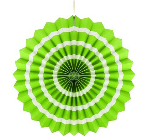 Dekoratívna rozeta zelená 40 cm