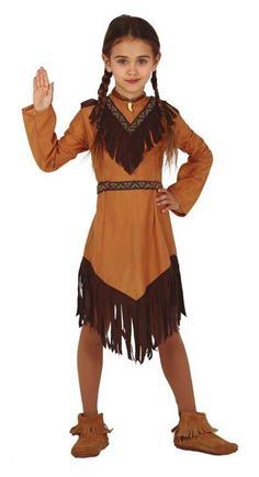 kostýmy indiánkok