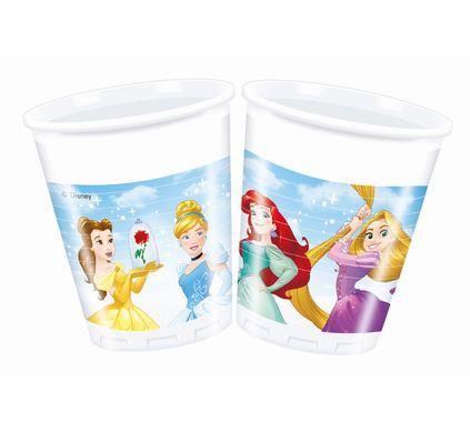 Pohárik Disney Princezné modrý