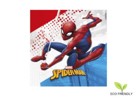Servítky EKO Spiderman Super Hero