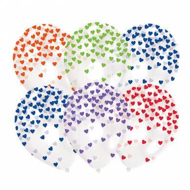 Balóny s konfetami farebné