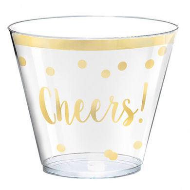 Plastové poháriky cheers