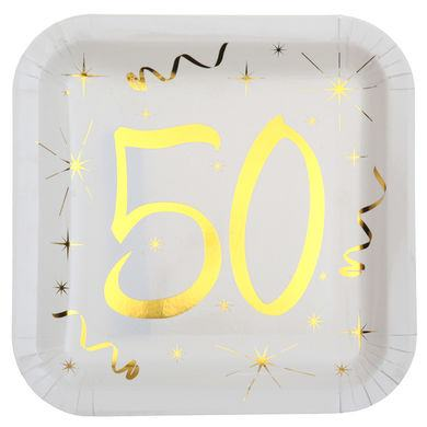 "Tanierik s číslom ""50"""