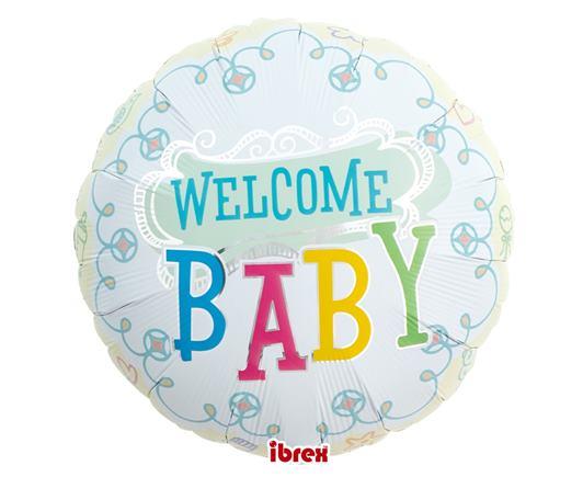 Balón Welcome baby
