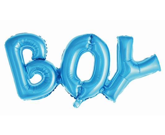 Balónový nápis BOY