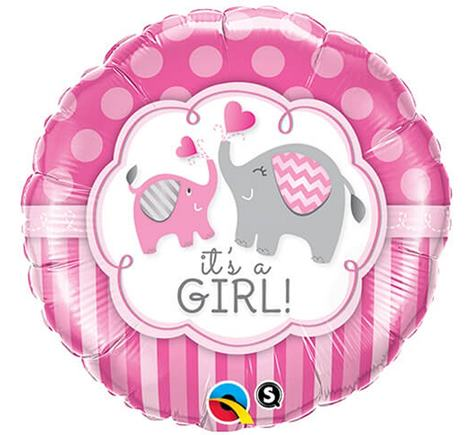 Balón baby girl