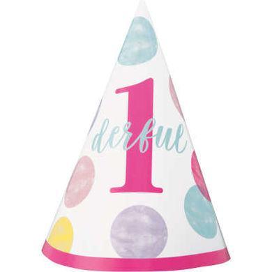 Klobúčik 1. narodeniny Dievčatko