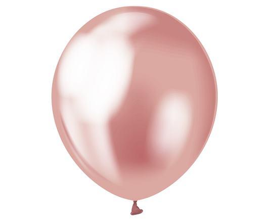 Balón saténový ružový