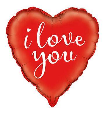 Fóliový balón srdce Love You