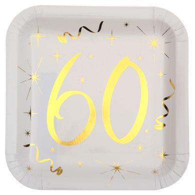 """Tanierik so zlatým číslom """"60"""""""