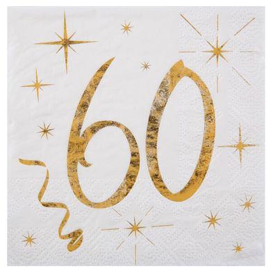 """Servítky """"60 rokov"""