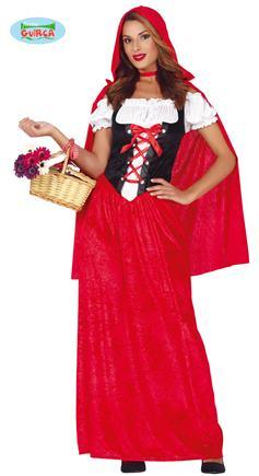 kostým červená čiapočka M-L