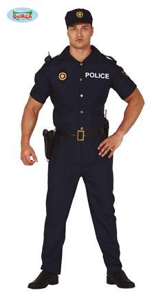 Kostrým policajt L
