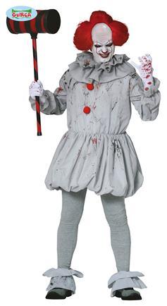 Kostým strašidelný klaun L