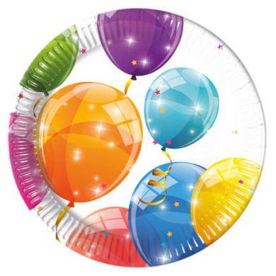 Tanierik malý Sparkling Balloons