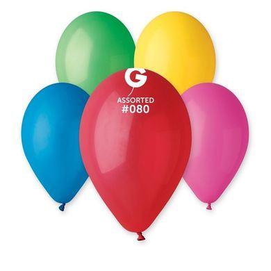 Balóny farebný mix 25 ks