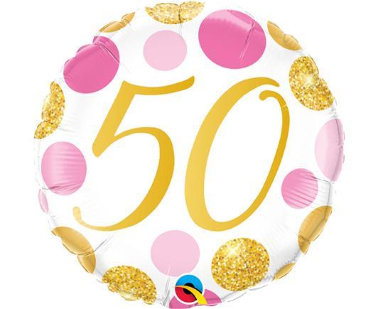 Fóliový balón č. 50