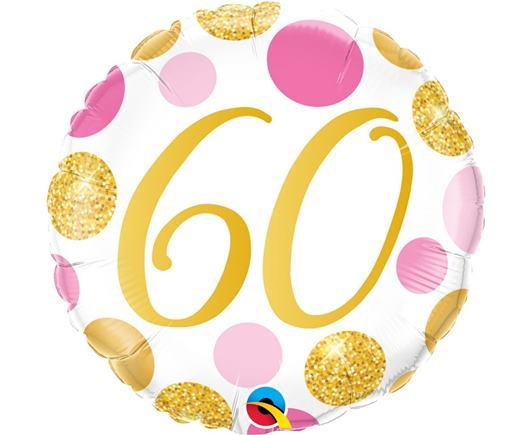 Fóliový balón č .60