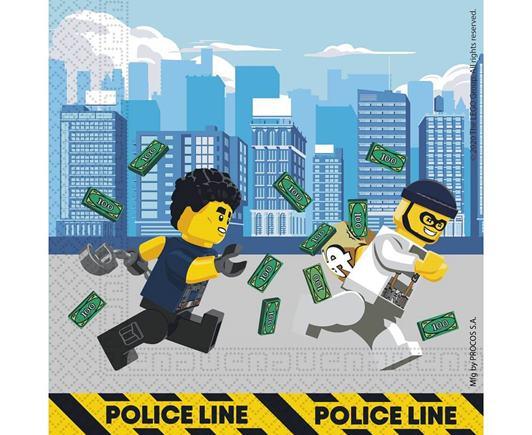 Servítky Lego City