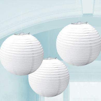 Lampióny biele