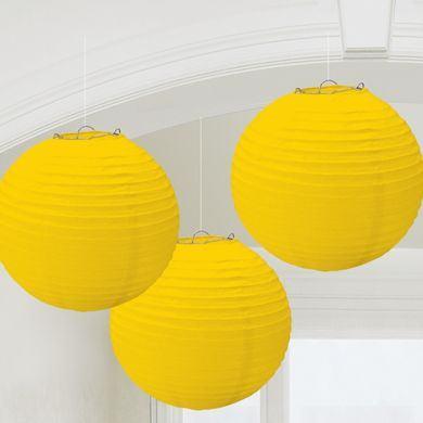 Lampióny žlté