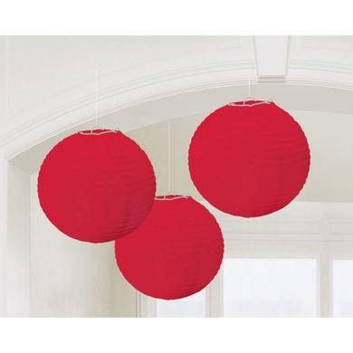 Lampióny červené