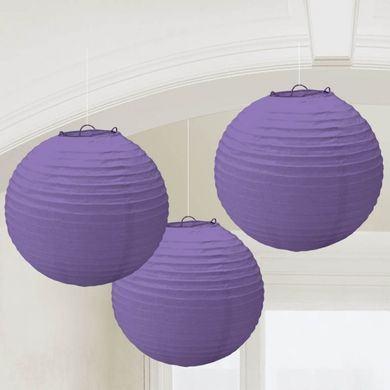 Lampióny fialové