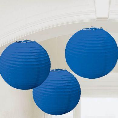 Lampióny modré