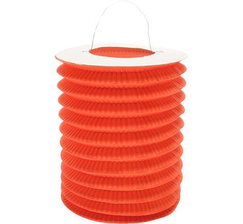 Dekoratívny lampáš oranžový