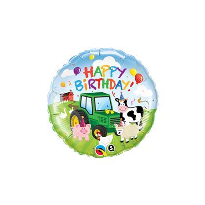 Balón Farma Happy Birthday