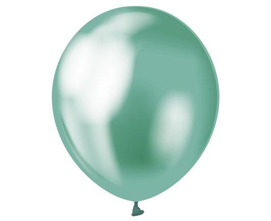 Balón saténový mentolový