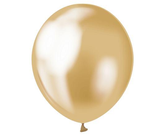 Balón saténový zlatý