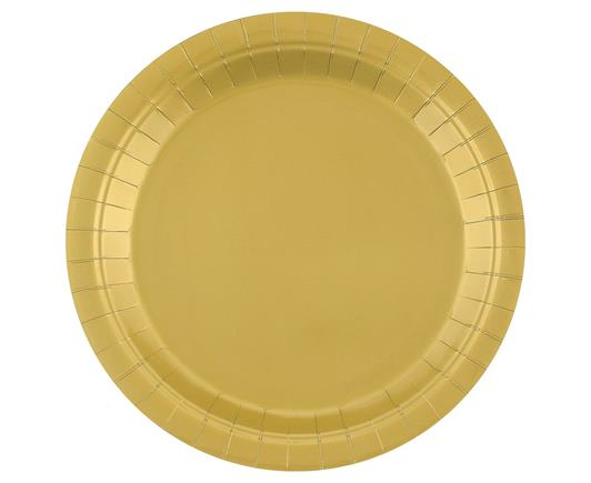 Tanierik veľký zlatý 14 ks