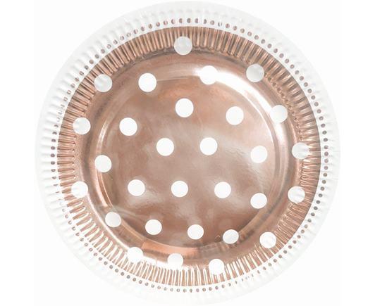 Tanierik ružovo zlatý