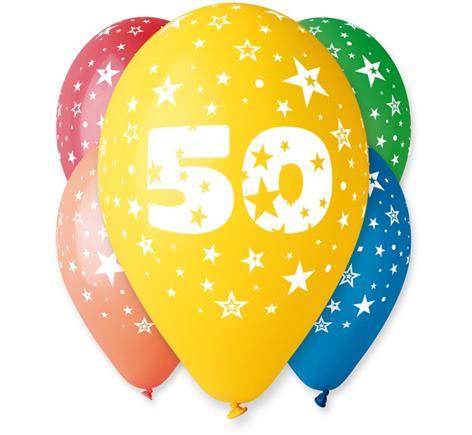 Balóny s č. 50