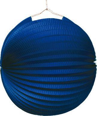 Lampión jednofarebný modrý