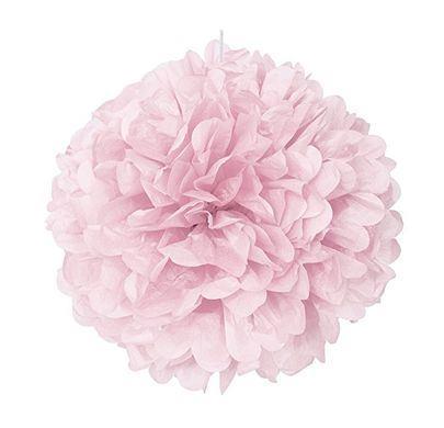Pompónová guľa pink baby