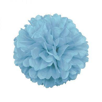Pompónová guľa baby blue